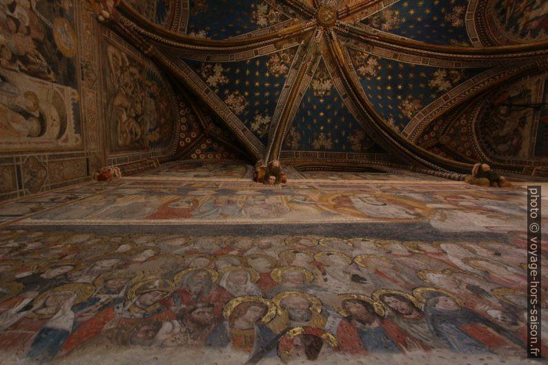 Peintures dans la Chapelle Saint Blaise de la Cathédrale de Tolède. Photo © André M. Winter
