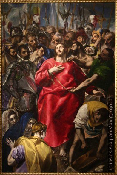 El expolio - El Greco - 1579. Photo © André M. Winter