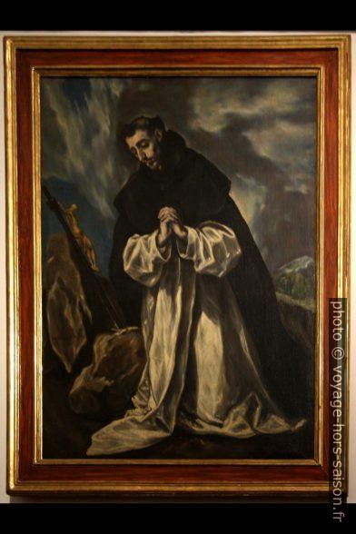 Santo Domingo en oración - El Greco - 1610. Photo © André M. Winter