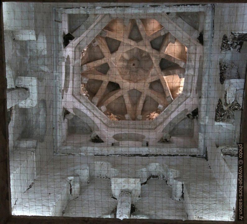 Arcs croisées de la coupole de la Mosquée Bab al-Mardum. Photo © Alex Medwedeff