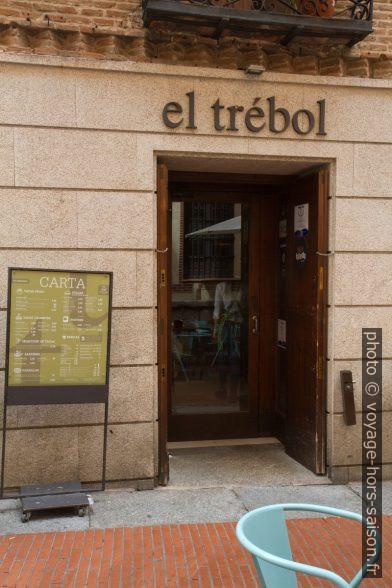Restaurant El Trébol à Tolède. Photo © Alex Medwedeff