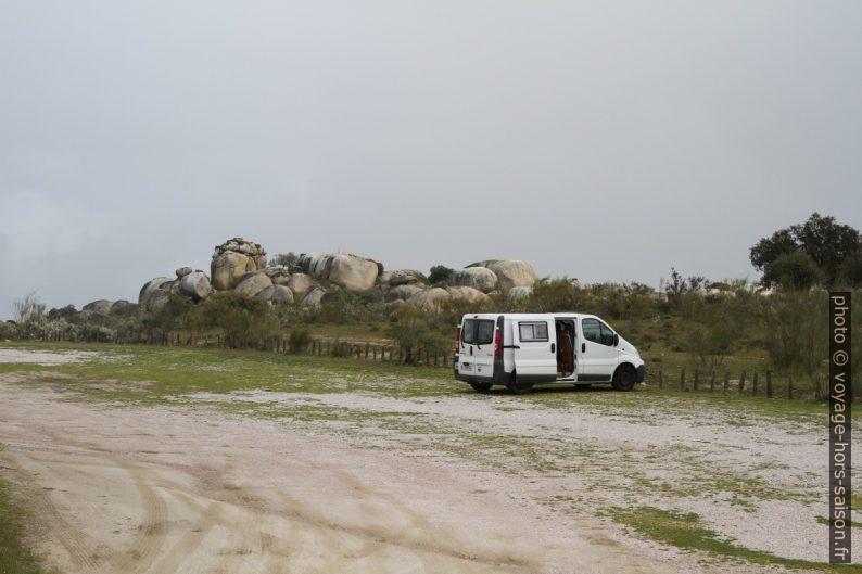 Notre trafic au Monument Naturel des Barruecos. Photo © André M. Winter