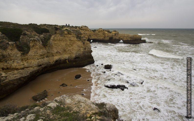 Caps escarpés de l'Algarve kastique. Photo © André M. Winter