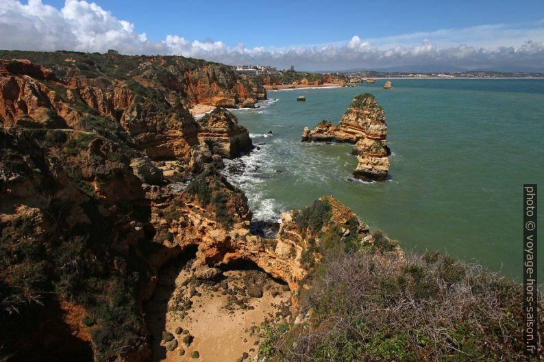 Côte de l'Algarve de la Ponta da Piedade. Photo © André M. Winter