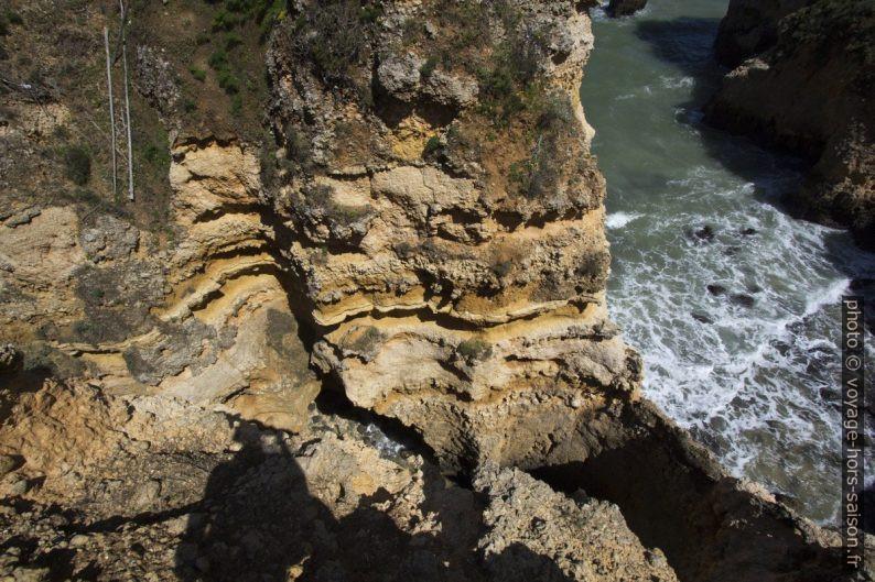 Érosion karstique à l'est de la Ponta da Piedade. Photo © André M. Winter