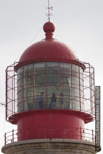 Lanterne du Phare de Cabo de São Vicente. Photo © André M. Winter