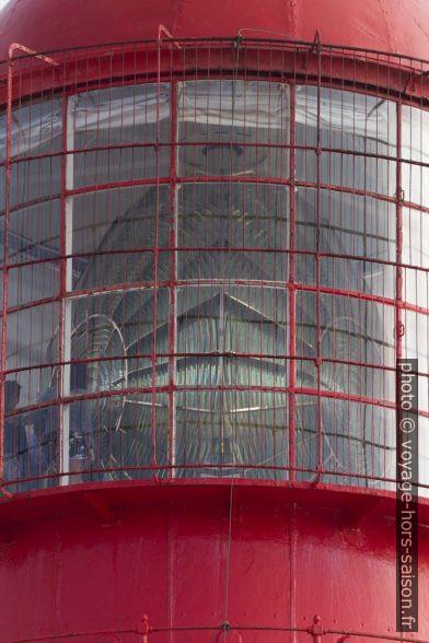Grande lentille de Fresnel du Phare du cap Saint-Vincent. Photo © André M. Winter