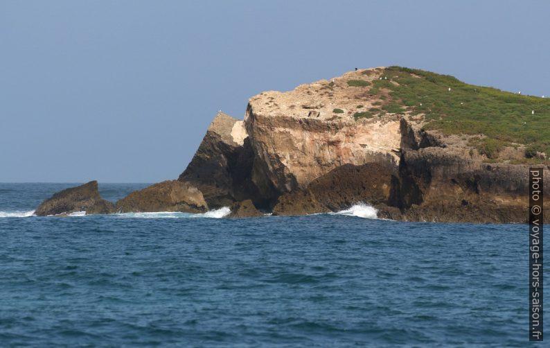 Falaises au sud de l'Île de do Pessegueiro. Photo © André M. Winter