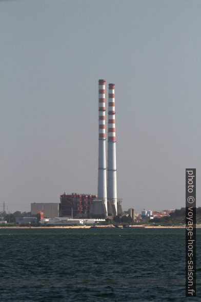 La Central termoeléctrica de Setúbal. Photo © André M. Winter