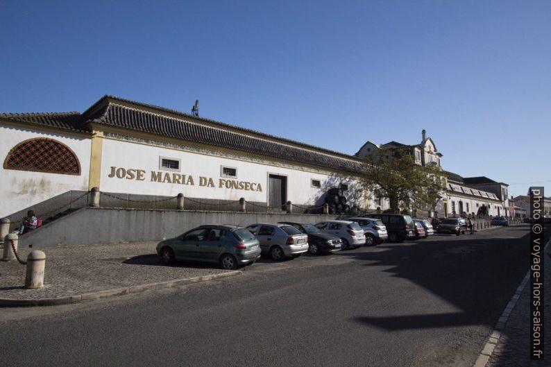 Caves de José Maria da Fonseca à Azeitão. Photo © André M. Winter