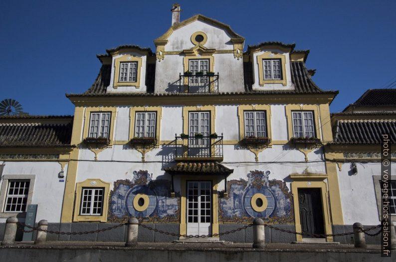 Maison d'habitation des caves de José Maria da Fonseca à Azeitão. Photo © André M. Winter