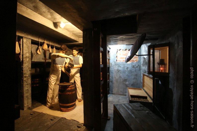 Chambre à poudre de la frégate Dom Fernando II e Glória. Photo © André M. Winter
