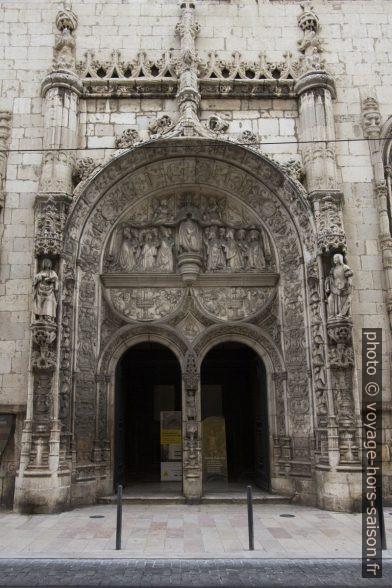 Portail manuélin de l'église Nossa Senhora da Conceição Velha. Photo © André M. Winter