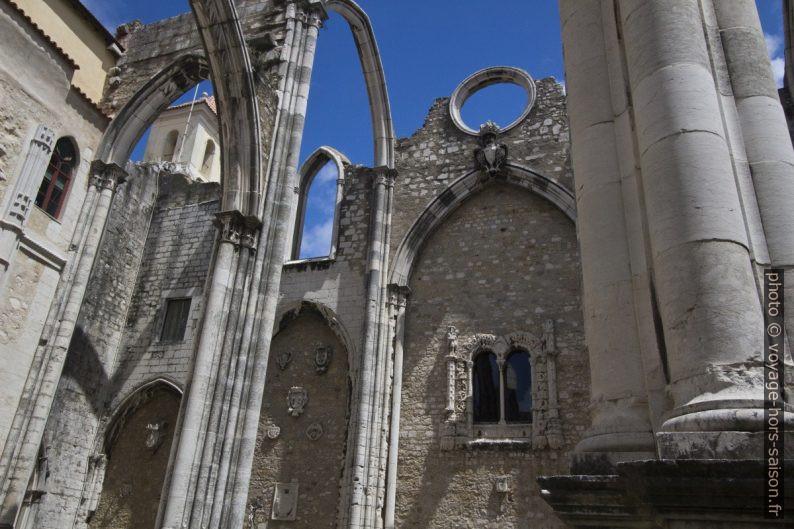 Chapelles latérales et chœur murés du Couvent des Carmes. Photo © André M. Winter