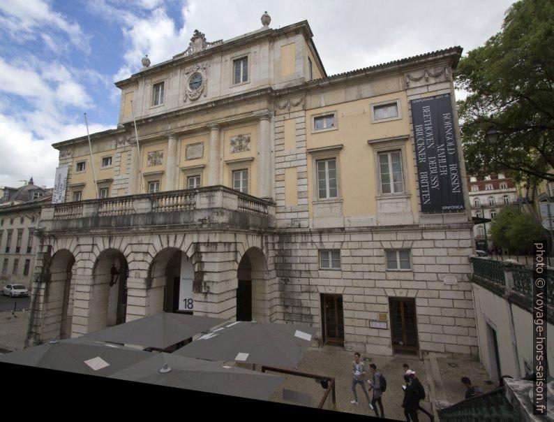 Teatro Nacional de São Carlos. Photo © André M. Winter