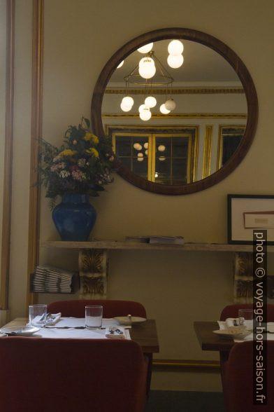 Intérieur du Café Lisboa de José Avillez. Photo © Alex Medwedeff