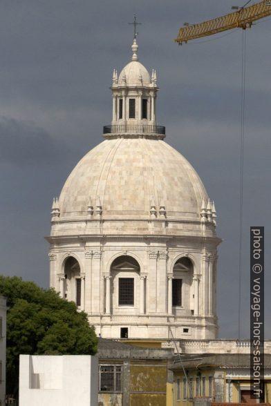 Dome du Panteão Nacional. Photo © André M. Winter