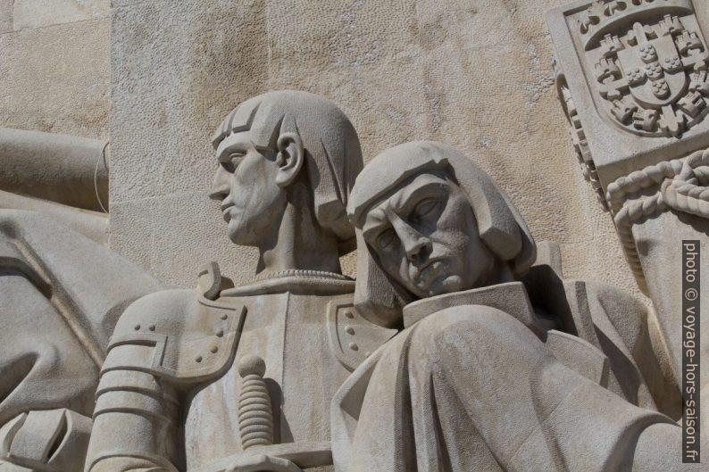 Estêvão da Gama et Bartolomeu Dias. Photo © André M. Winter