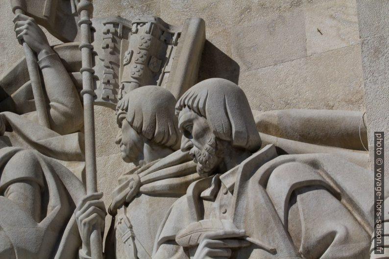 Martim Afonso de Sousa et João de Barros. Photo © André M. Winter