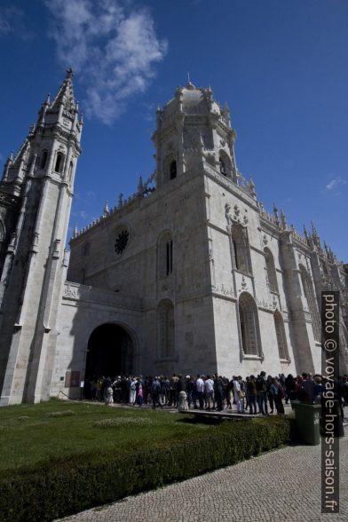 Passage entre le monastère et l'église Sainte-Marie de Belém. Photo © André M. Winter