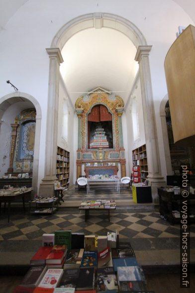 Igreja de São Tiago transformée en librairie. Photo © André M. Winter