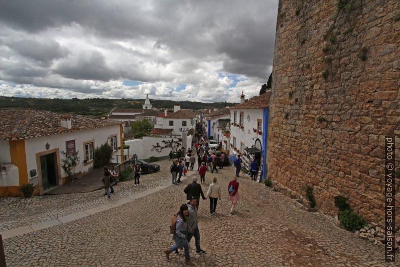 La Rua Direita d'Óbidos. Photo © André M. Winter