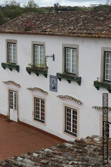 Maison de maître au sud de Óbidos. Photo © Alex Medwedeff