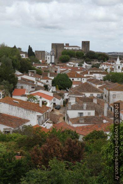 Ville intra muros de Óbidos. Photo © Alex Medwedeff