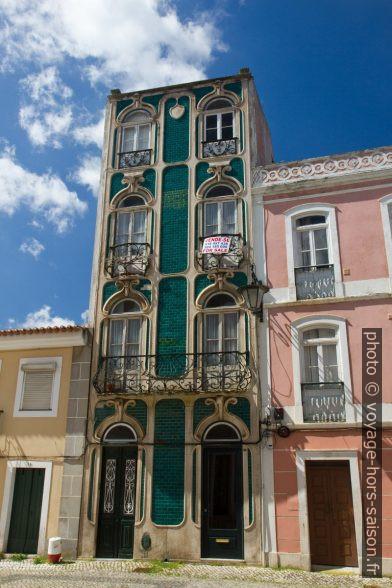 Maison d'Art Nouveau sur la place du Largo Dr. José Barbosa. Photo © Alex Medwedeff