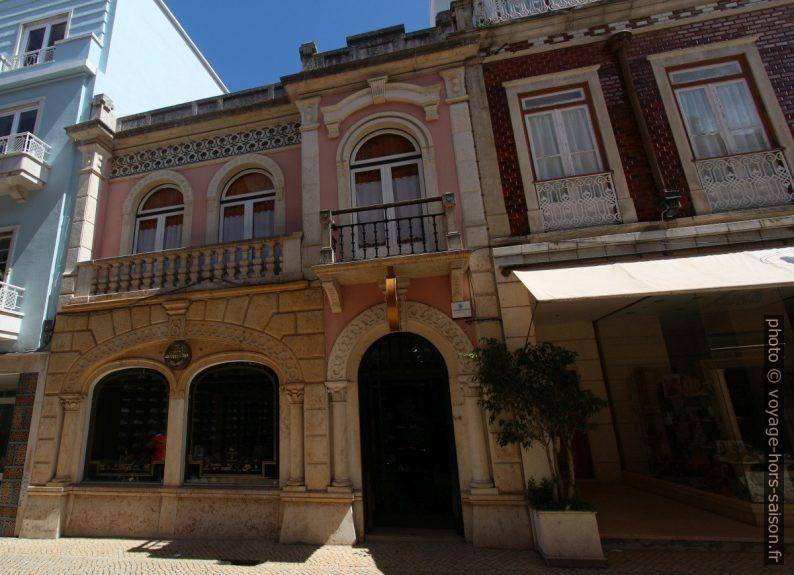 Maison ancienne dans la Rua Almirante Cândido Reis. Photo © André M. Winter