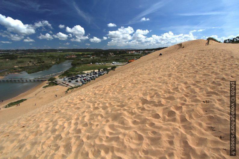 Dune de Salir do Porto et le Rio Tornada. Photo © André M. Winter