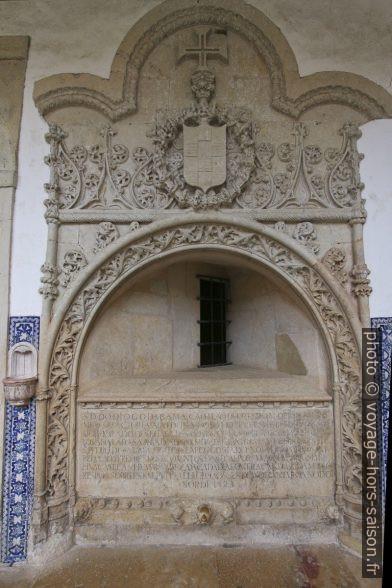 Tombe de Dom Diogo da Gama. Photo © André M. Winter
