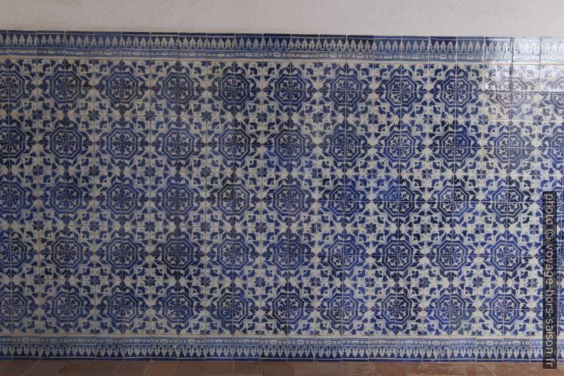 Carreaux bleus et blancs du Claustro do Lavagem. Photo © André M. Winter