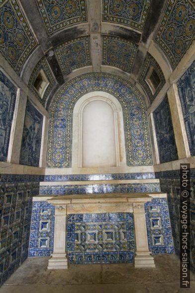 Azulejos dans la Capela dos Portocarreiros. Photo © André M. Winter