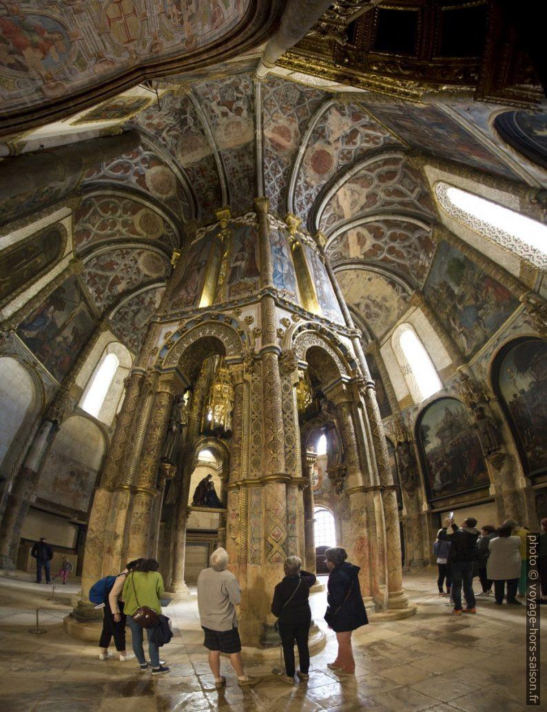 Structure octogonale centrale de la Rotonde du Couvent de l'ordre du Christ. Photo © André M. Winter