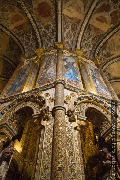 Décor de la galerie de la Charola do Convento de Cristo. Photo © Alex Medwedeff