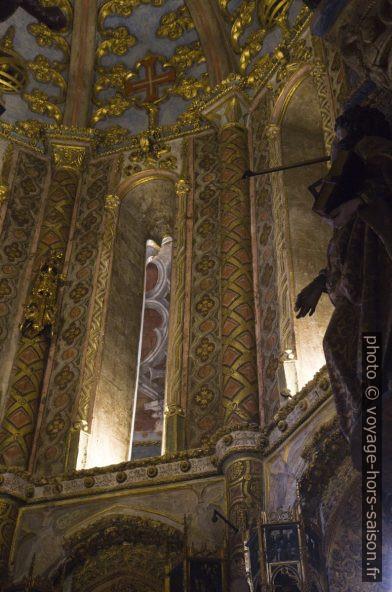 Décor dans la Rotonde du Couvent de l'ordre du Christ. Photo © Alex Medwedeff