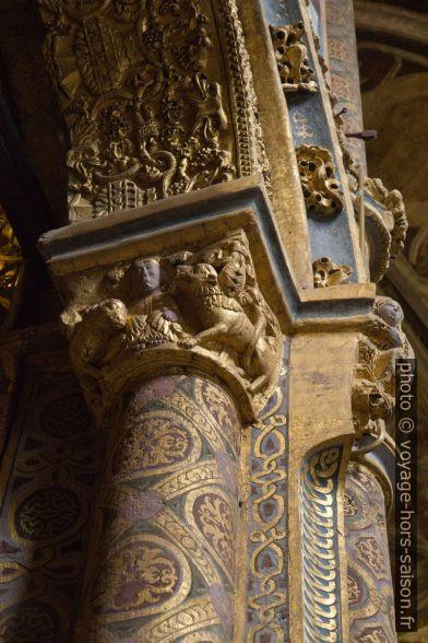 Peintures et dorures Rotonde du Couvent de l'ordre du Christ. Photo © Alex Medwedeff