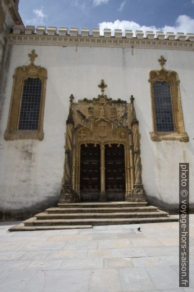 Porte de la Capela de São Miguel. Photo © André M. Winter