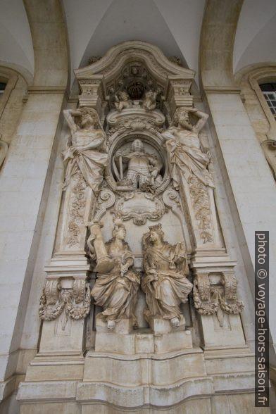 Décor baroque de la Via Latina. Photo © André M. Winter