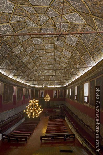 Sala dos Capelos de l'Université de Coimbra. Photo © André M. Winter