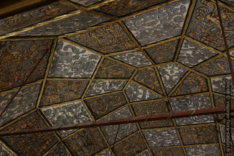 Panneaux du plafond de la Sala dos Capelos. Photo © André M. Winter