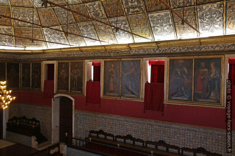Tableaux de la Sala dos Capelos. Photo © André M. Winter