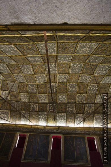 Plafond de la Sala dos Capelos. Photo © André M. Winter