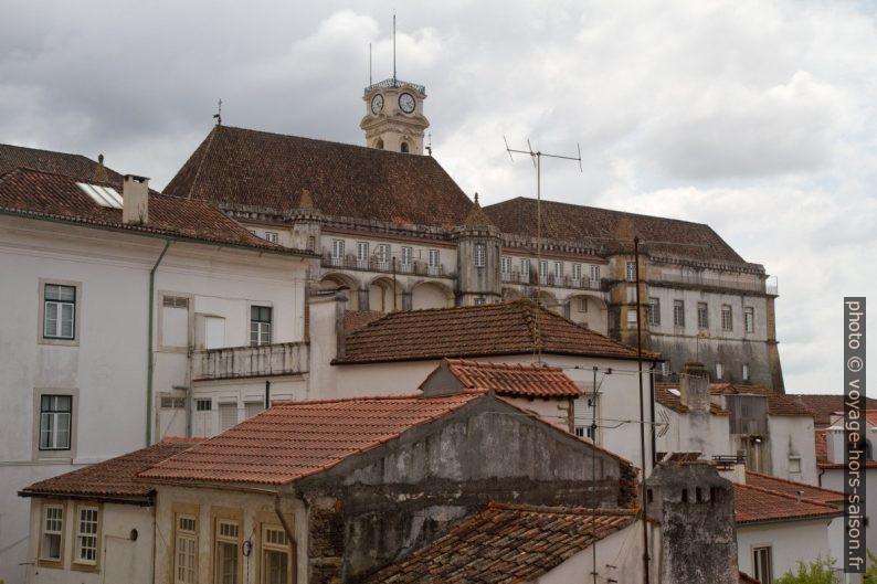 Université de Coimbra vue du nord-est. Photo © Alex Medwedeff