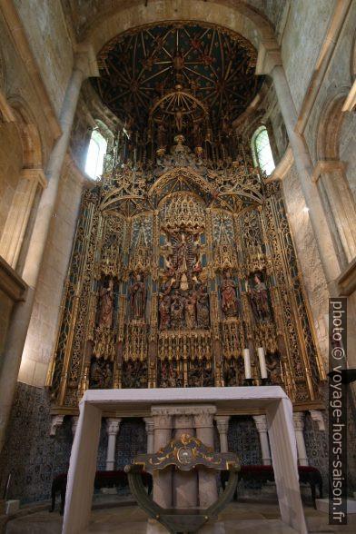 Retable de la Cathédrale Velha de Coimbra. Photo © André M. Winter
