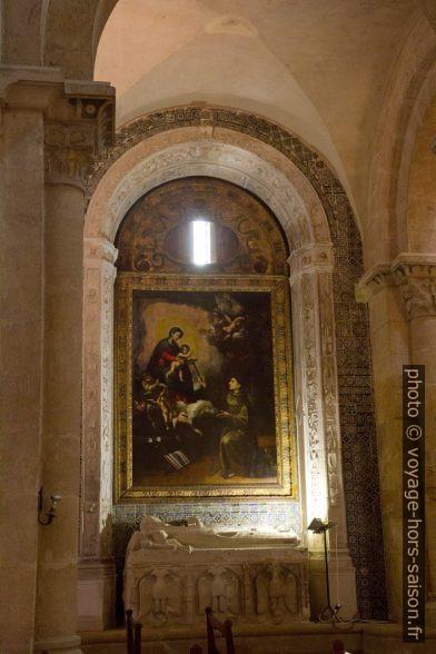 Tableau et tombe de Vataça Lascaris de style byzantin. Photo © Alex Medwedeff