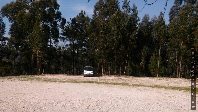 Notre Trafic sur le parking au nord sous les Moinhos de Gavinhos. Photo © André M. Winter