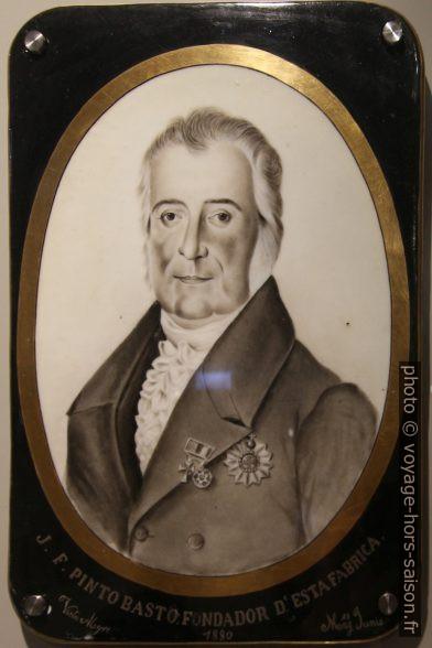 Le fondateur de Vista Alegre José Ferreira Pinto Basto. Photo © André M. Winter