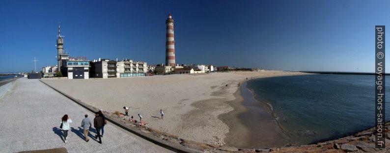 Praia da Barra e Farol de Aveiro. Photo © André M. Winter